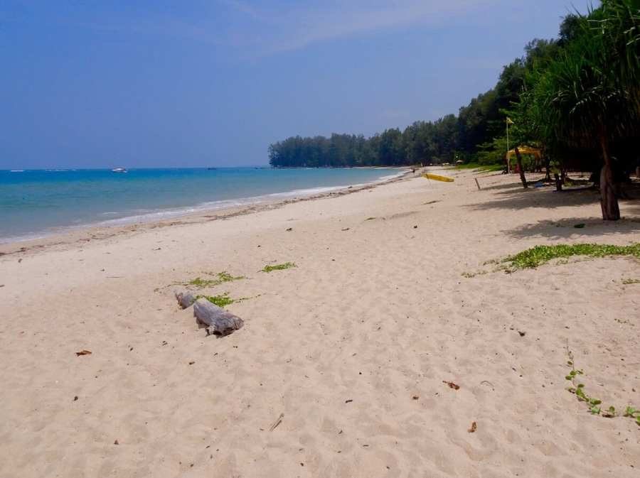 Nai Yang Beach, Phuket. Secluded beach-Best Areas to Stay in Phuket