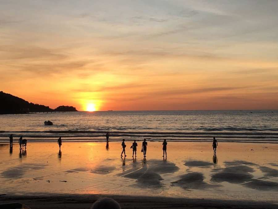 Sunset in Patong, Phuket-Best Areas to Stay in Phuket