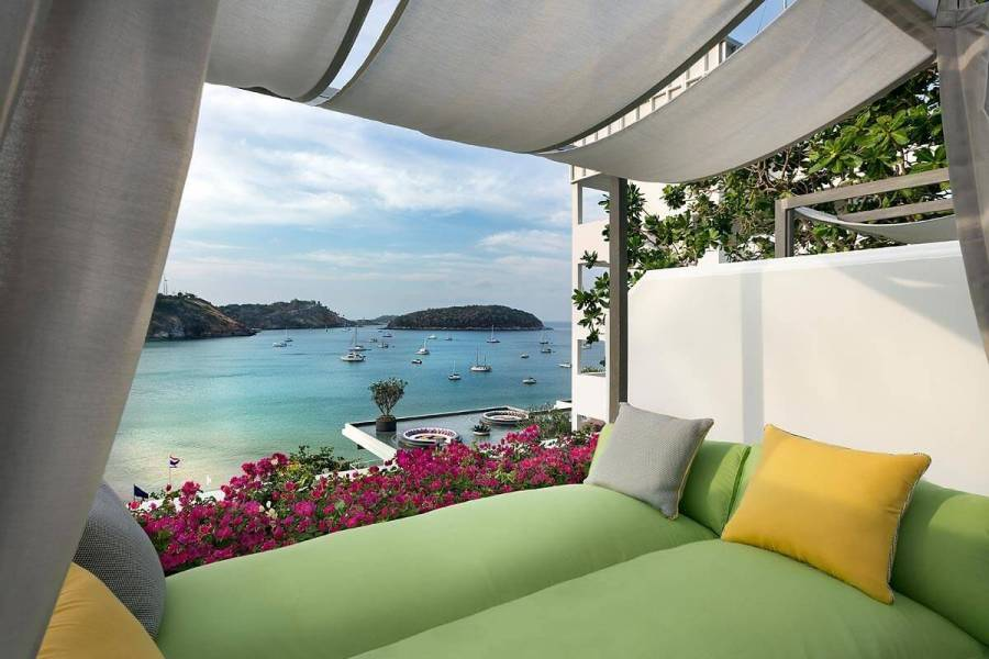 The Nai Harn room view Best areas to stay in Phuket
