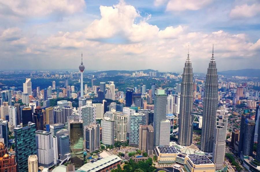 Kuala Lumpur skyline-starting a new life abroad