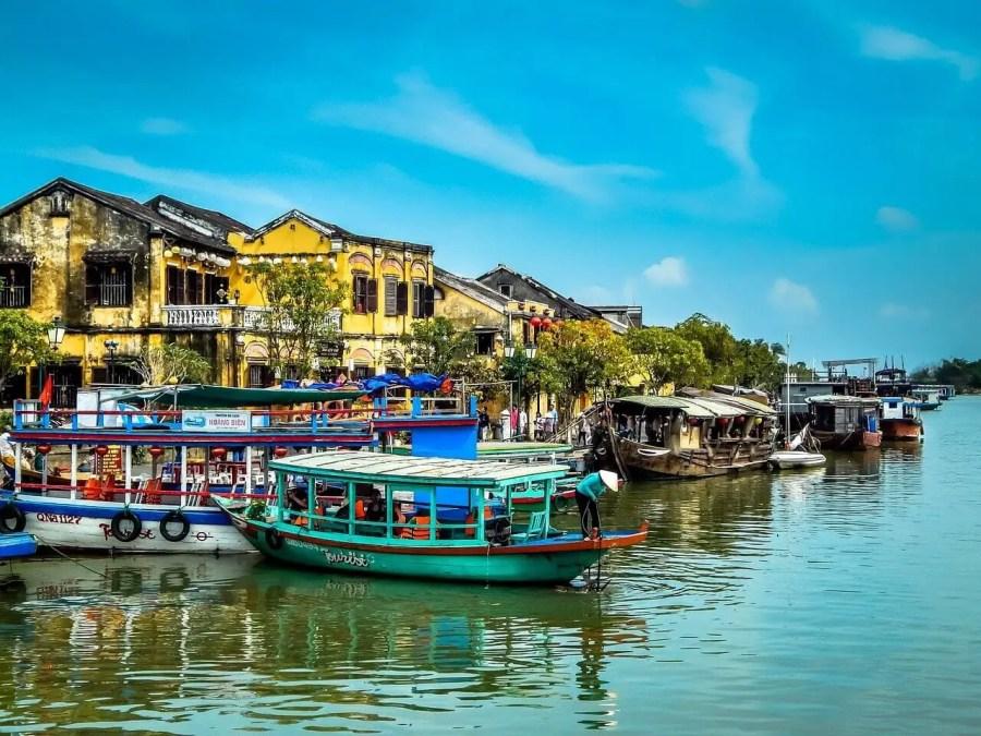 Hoi An, Vietnam river