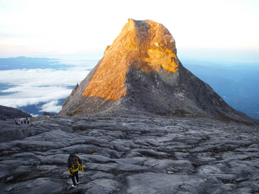 Sunshine on top of Mount Kinabalu-reasons to visit Malaysia