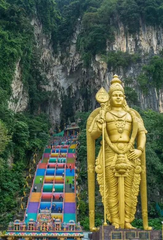 Batu Caves Hindu Shrine, KL-reasons to visit Malaysia