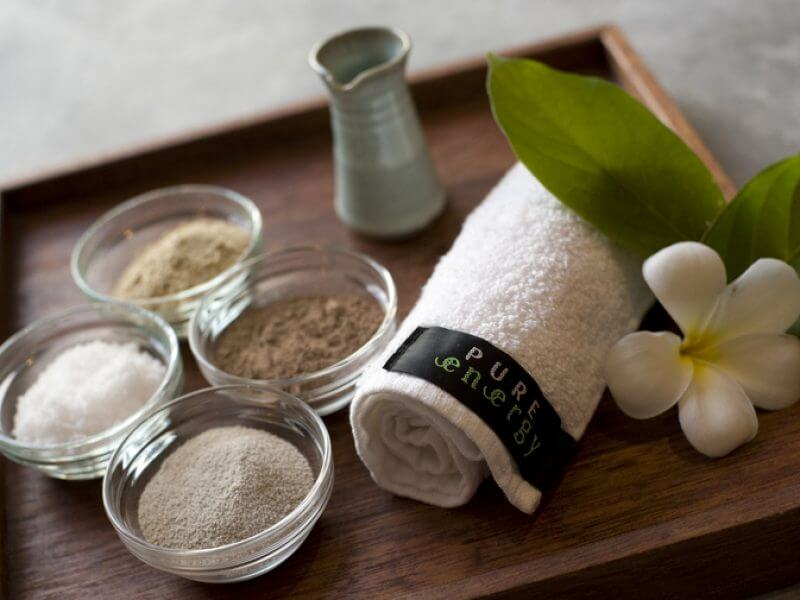 body scrubs at pure energy spa