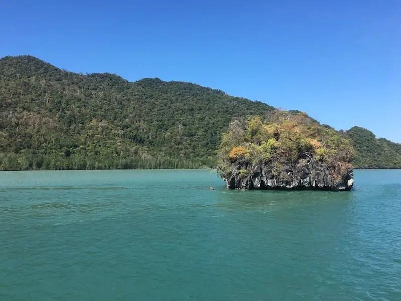 Blue skies, teal water. Langkawi Itinerary