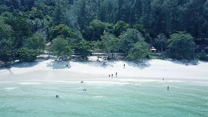 Sandy Skulls Beach langkawi itinerary