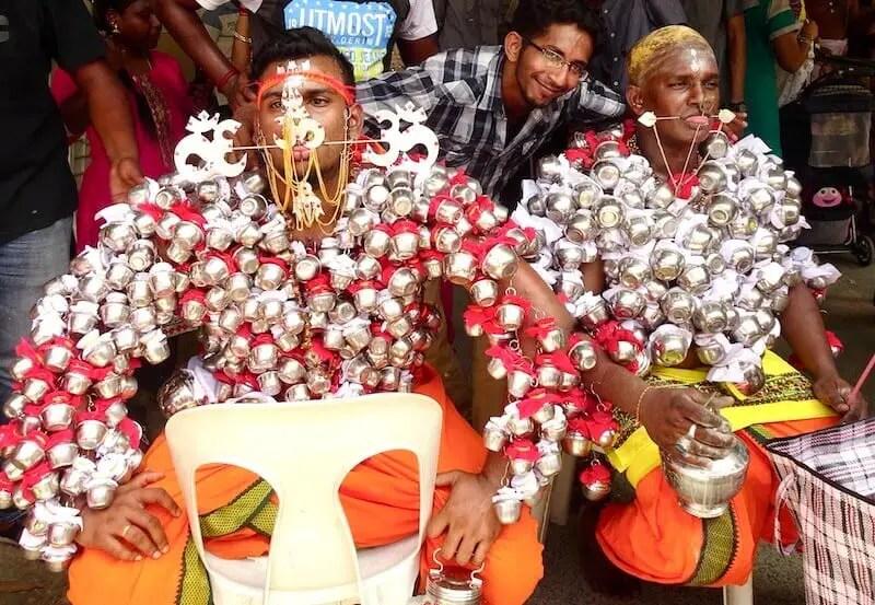 Thaipusam Hindu devotees. One of my favorite festivals of Malaysia