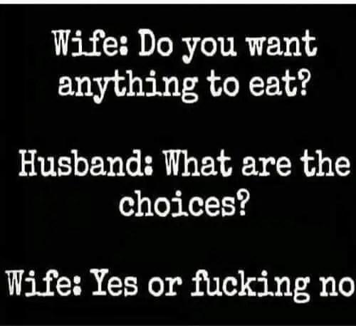 food choices meme