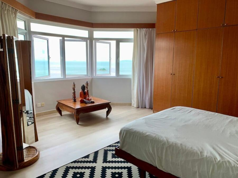 Bedroom with a view of the ocean: cost of living in Penang