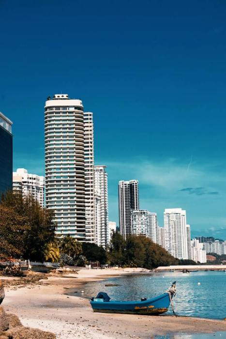 beach view of apartments for rent in penang