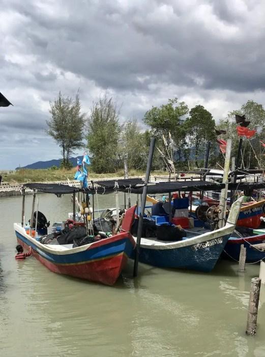 fishing boats in penang