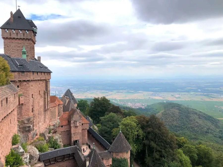 Koenigsbourg, castle in France