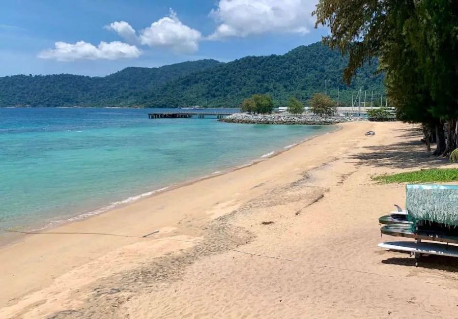 Tekek Beach. How to get to Tioman Island