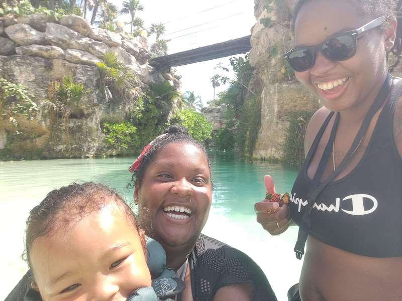 2 happy moms and a baby in Mexico: reasons to move to another country