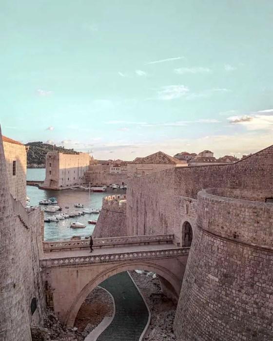 View of Dubrovnik: Living in Croatia