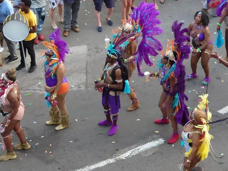 St Kitts Carnival at Christmas