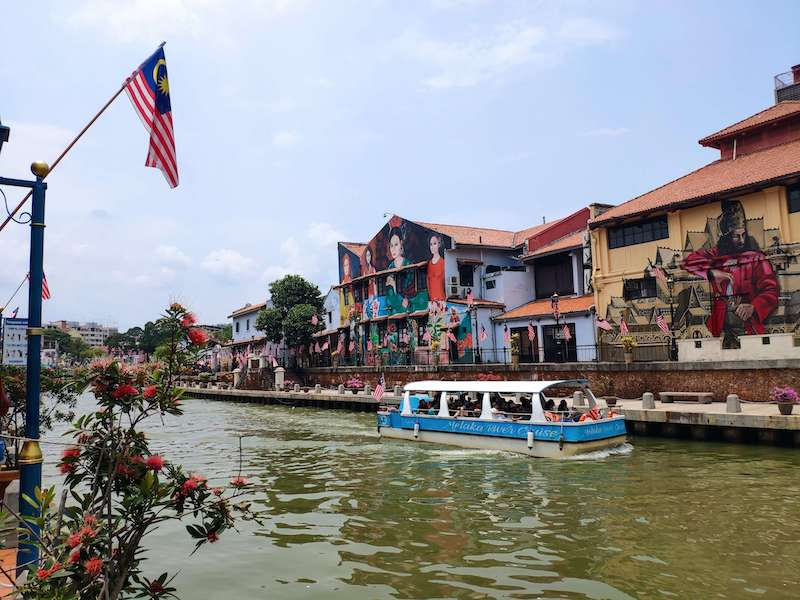riverboat in Malacca -best places to live in Malaysia