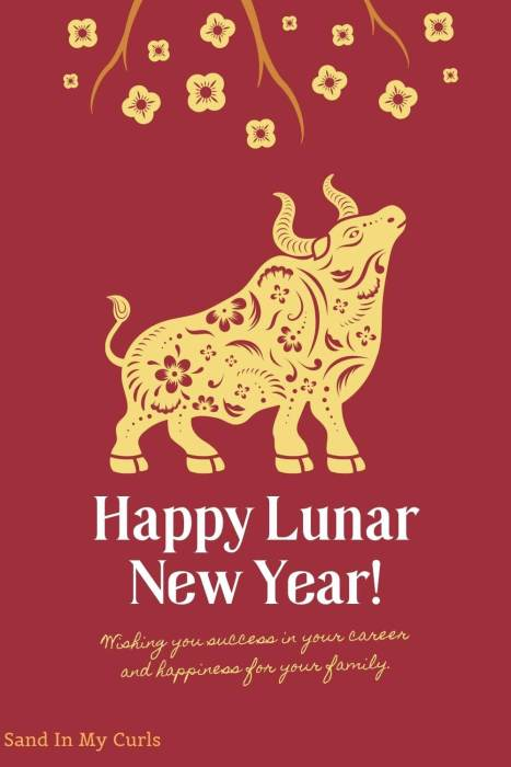 traditional year of ox quote for Chinese New Year