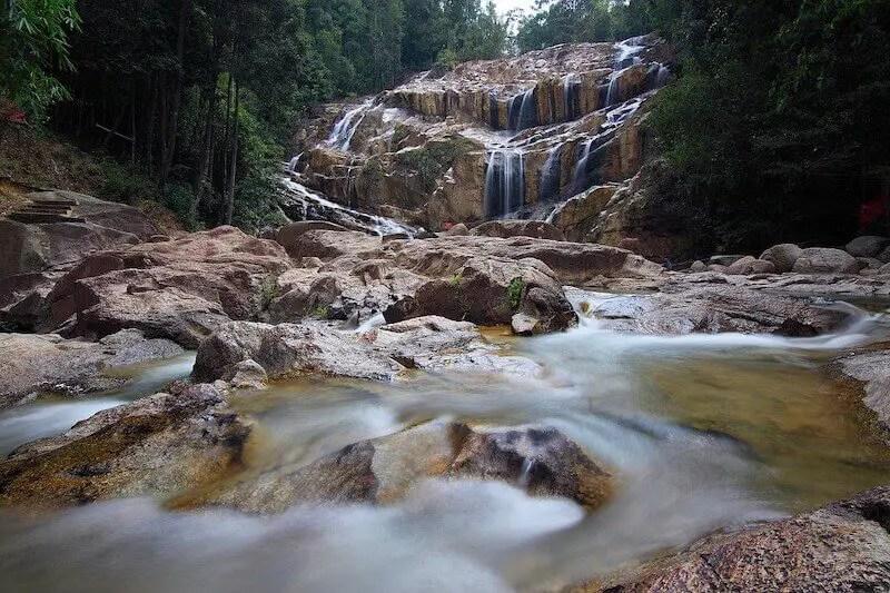 waterfall in Kuantan