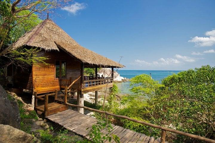 Best Koh Tao Bungalows Sensi Paradise Is Nice!  Sand In