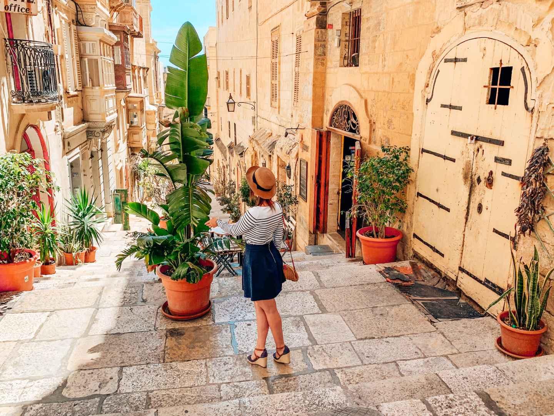 Valetta Malta travel blog sandinourhands