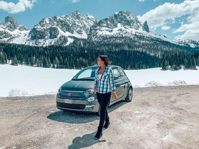 Dolomites road trip travel blogger sandinourhands
