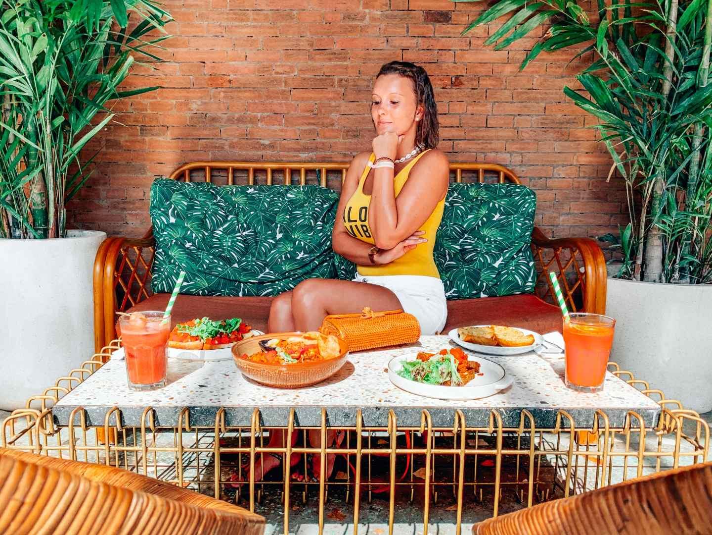 Canggu food spots instagrammable travel blog