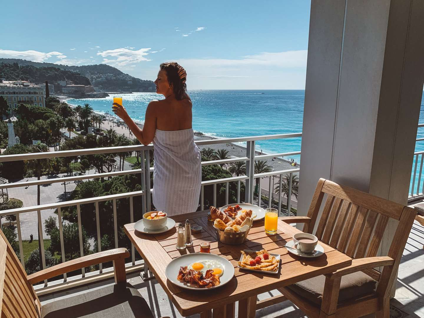 Meridien Nice Hotel review French Riviera