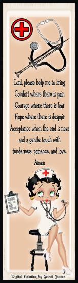 Betty Boop Nurse