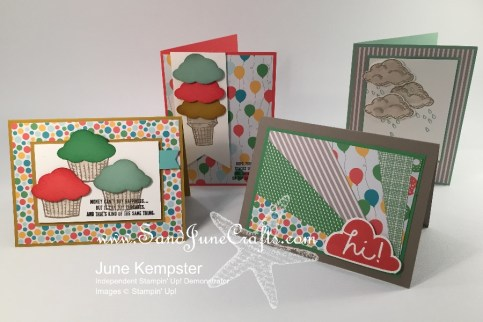 Sprinkles Of Life and Stamp set with Cherry On Top Designers Series Paper Stack