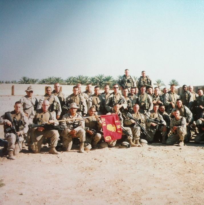 Tim In Iraq.
