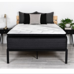Brooklyn Bedding Black 16″ (Pillow Top)