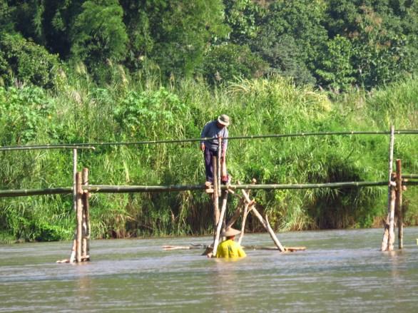 La consolidation d'un pont version thailandaise