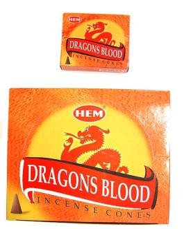 CONES DRAGONS BLOOD (Sang des dragons)