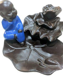 BFC-11  Little BOUDDHA Doré (pas bleu) P.E. résine pour cônes back flow