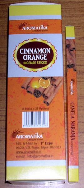 AROMATIKA CINNAMON ORANGE (Cannelle Orange) Square