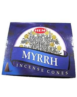 CONES MYRRH (Myrrhe)