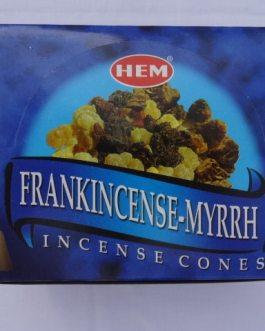 CONES FRANK INCENSE-MYRRH (Oliban-Myrrhe)