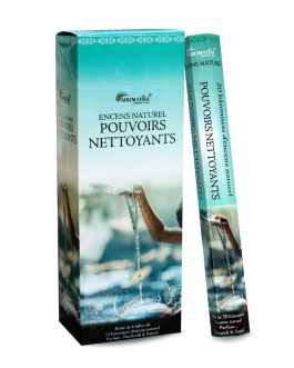 Encens Naturel POUVOIRS NETTOYANTS (Cleaning powers) AROMATIKA HEXA