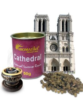 .AROMATIKA RESINE NATURELLE CATHEDRAL (Cathédrale) 50g