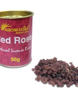 .AROMATIKA RESINE NATURELLE RED ROSE (Rose Rouge) 50g