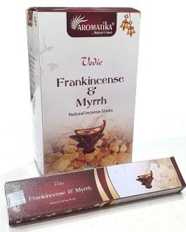 VEDIC MASALA FRANK INCENSE & MYRRH (Oliban-Myrrhe) 15g