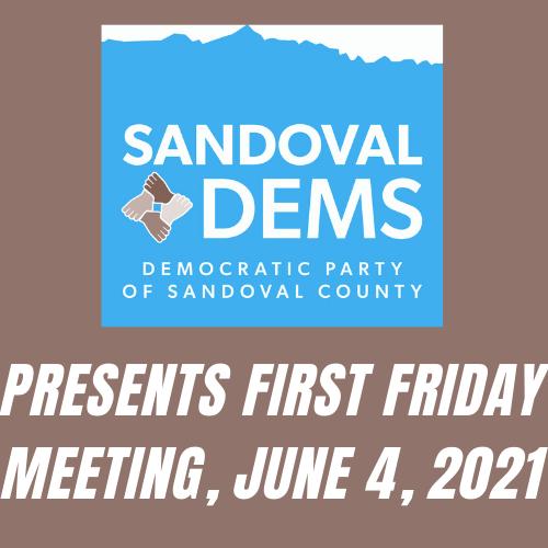 First Friday Forum – June 4, 2021