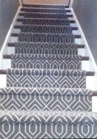 Geometric Patterned Carpet - Home Safe