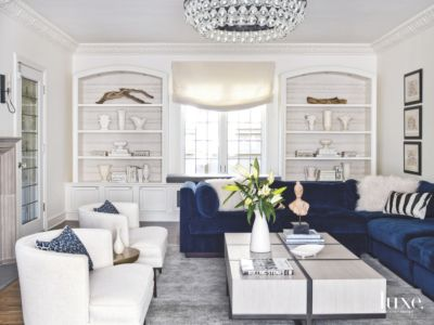 contemporary gray fabric sofa deacon leather power reclining reviews color pop blue velvet in white living room - luxe ...