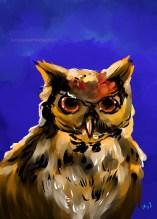 horned owl_sandpaperdaisy
