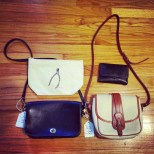 Vintage coach and dooney...drool!