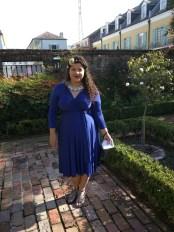 New Orleans Wedding - Henkaa Iris Convertible Dress Royal Blue