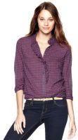 gap-plaid-ruffle-fitted-boyfried-shirt