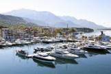 Porto Montenegro marina, July 2012